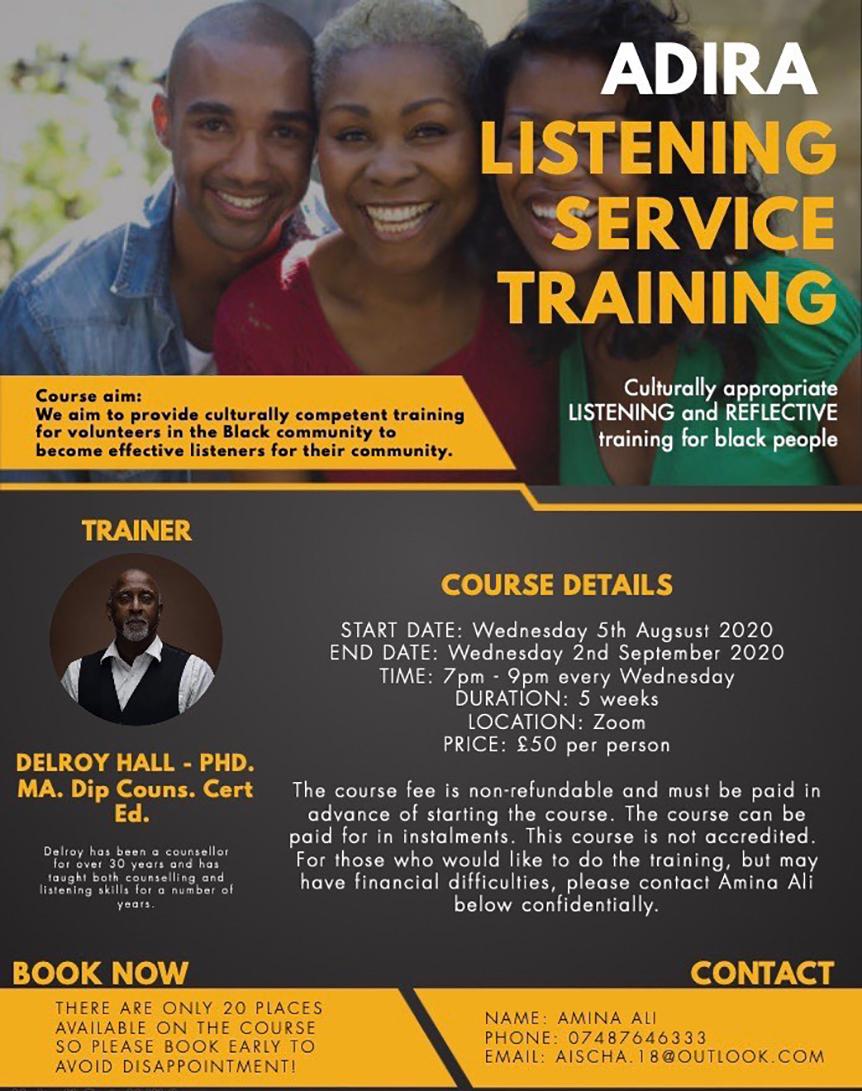 Listening Service Training